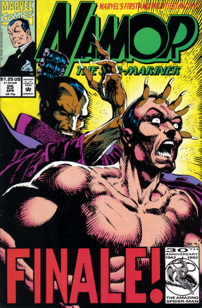 Cover for Namor, the Sub-Mariner (Marvel, 1990 series) #25