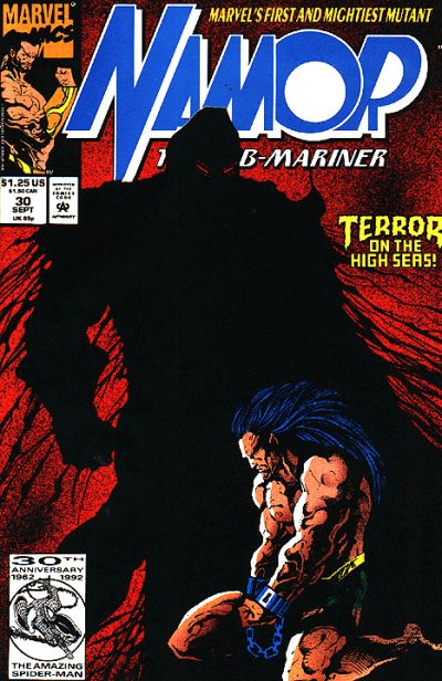 Cover for Namor, the Sub-Mariner (Marvel, 1990 series) #30 [Direct]