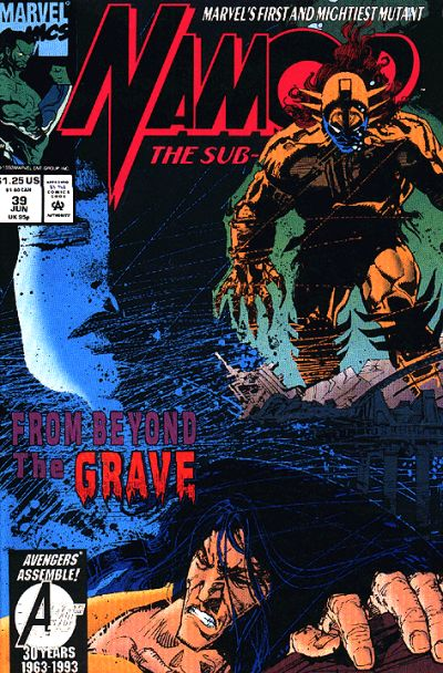 Cover for Namor, the Sub-Mariner (Marvel, 1990 series) #39