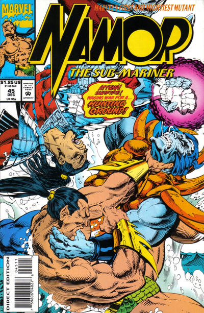 Cover for Namor, the Sub-Mariner (Marvel, 1990 series) #45