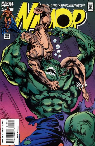 Cover for Namor, the Sub-Mariner (Marvel, 1990 series) #59