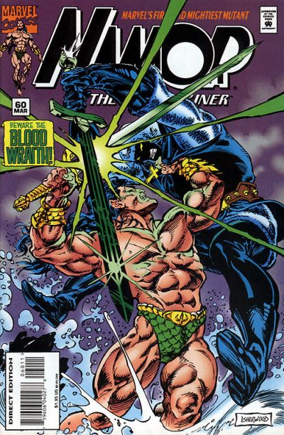 Cover for Namor, the Sub-Mariner (Marvel, 1990 series) #60