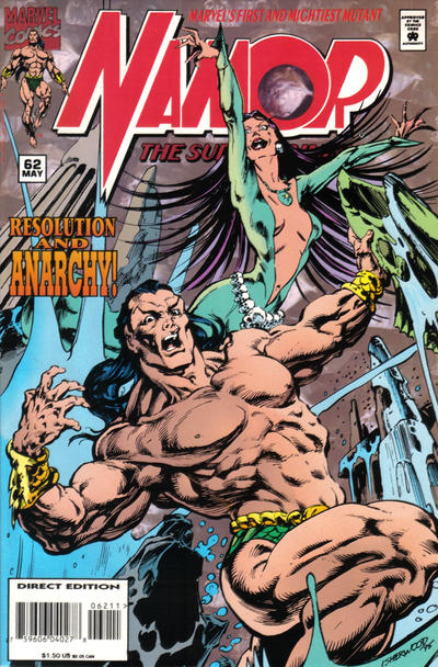 Cover for Namor, the Sub-Mariner (Marvel, 1990 series) #62