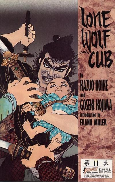 Cover for Lone Wolf and Cub (First, 1987 series) #11