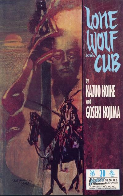Cover for Lone Wolf and Cub (First, 1987 series) #20
