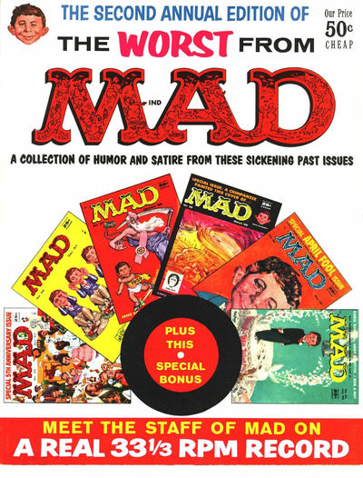 Cover for The Worst from MAD (EC, 1958 series) #2