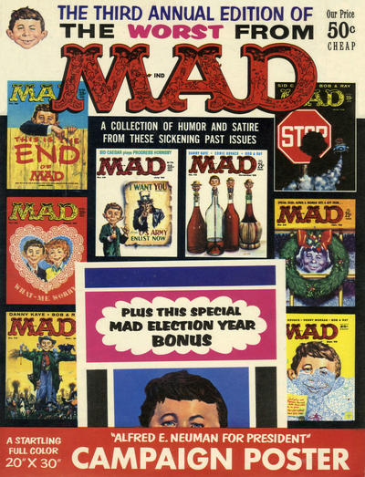 Cover for The Worst from MAD (EC, 1958 series) #3