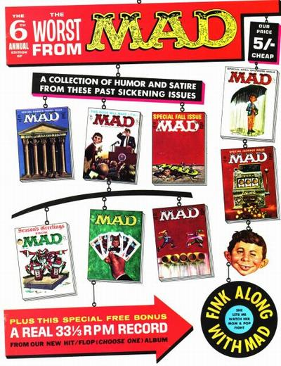 Cover for The Worst from MAD (EC, 1958 series) #6 [British]