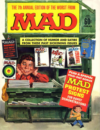 Cover for The Worst from MAD (EC, 1958 series) #7 [60¢]