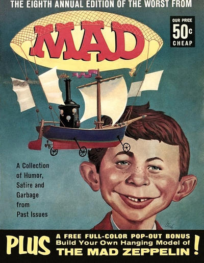 Cover for The Worst from MAD (EC, 1958 series) #8 [60¢]