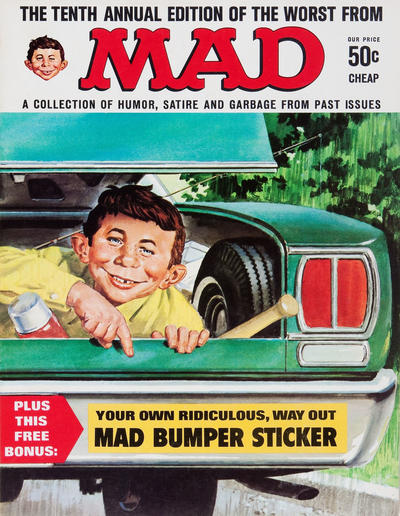 Cover for The Worst from MAD (EC, 1958 series) #10