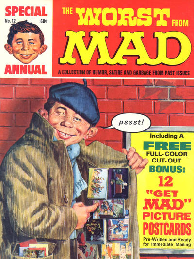Cover for The Worst from MAD (EC, 1958 series) #12