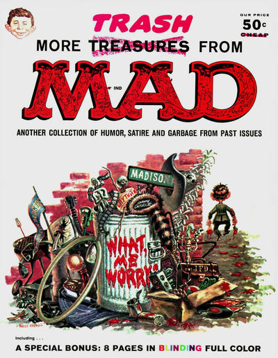 Cover for More Trash from MAD (EC, 1958 series) #1