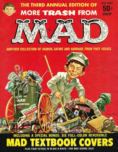 Cover for More Trash from MAD (EC, 1958 series) #3