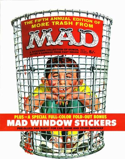 Cover for More Trash from MAD (EC, 1958 series) #5 [British]