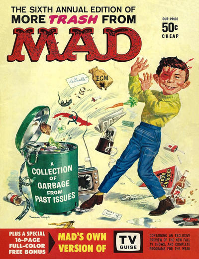Cover for More Trash from MAD (EC, 1958 series) #6