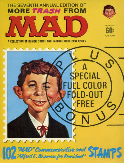Cover for More Trash from MAD (EC, 1958 series) #7 [60¢ Cover Price]