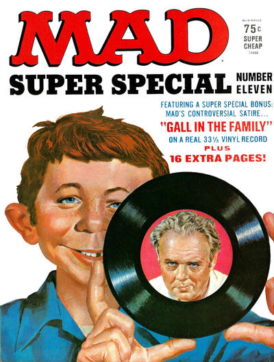 Cover for Mad Special [Mad Super Special] (EC, 1970 series) #11