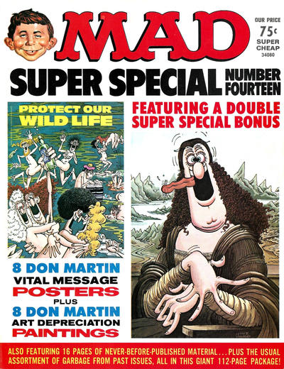 Cover for MAD Special [MAD Super Special] (EC, 1970 series) #14