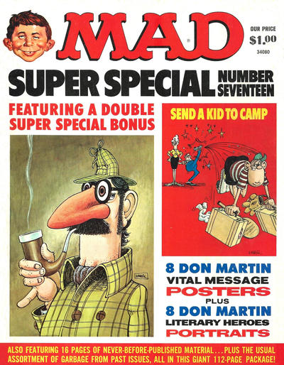 Cover for MAD Special [MAD Super Special] (EC, 1970 series) #17