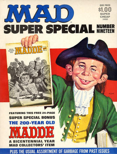 Cover for MAD Special [MAD Super Special] (EC, 1970 series) #19