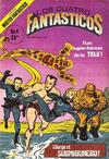 Cover for Los Cuatro Fantasticos (Novedades, 1980 series) #4