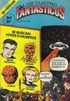 Cover for Los Cuatro Fantasticos (Novedades, 1980 series) #6