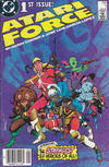Cover for Atari Force (DC, 1984 series) #1 [Newsstand Edition]