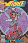 Cover for X-Force (Marvel, 1991 series) #2 [Newsstand]