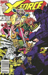 Cover for X-Force (Marvel, 1991 series) #14 [Newsstand]