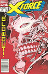 Cover Thumbnail for X-Force (1991 series) #13 [Newsstand Edition]