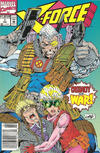 Cover for X-Force (Marvel, 1991 series) #7 [Newsstand]