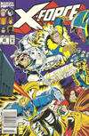 Cover for X-Force (Marvel, 1991 series) #20 [Newsstand]