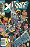 Cover for X-Force (Marvel, 1991 series) #22 [Newsstand]