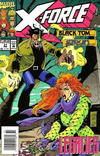 Cover Thumbnail for X-Force (1991 series) #31 [Newsstand Edition]