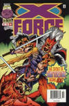 Cover for X-Force (Marvel, 1991 series) #59 [Newsstand Edition]