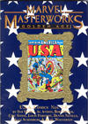 Cover for Marvel Masterworks: Golden Age U.S.A. Comics (Marvel, 2007 series) #2 (172) [Limited Variant Edition]