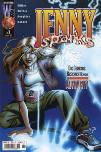Cover Thumbnail for Jenny Sparks (mg publishing, 2002 series) #1
