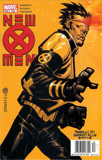 Cover for New X-Men (Marvel, 2001 series) #144 [Direct Edition]