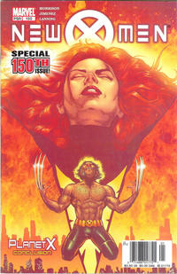 Cover Thumbnail for New X-Men (Marvel, 2001 series) #150 [Newsstand Edition]
