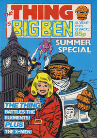 Cover Thumbnail for The Thing Is Big Ben Summer Special (Marvel UK, 1984 series)