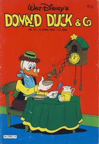 Cover Thumbnail for Donald Duck & Co (Hjemmet / Egmont, 1948 series) #14/1978
