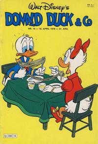 Cover Thumbnail for Donald Duck & Co (Hjemmet / Egmont, 1948 series) #16/1978