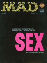 Cover Thumbnail for MAD (EC, 1952 series) #83 [25¢]