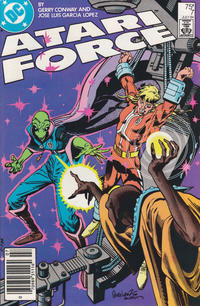 Cover for Atari Force (DC, 1984 series) #7 [Direct Edition]