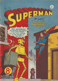 Cover Thumbnail for Superman (K. G. Murray, 1947 series) #72
