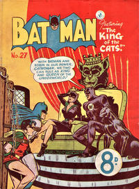 Cover Thumbnail for Batman (K. G. Murray, 1950 series) #27