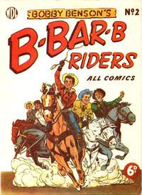 Cover Thumbnail for Bobby Benson's  B-Bar-B Riders (World Distributors, 1950 series) #2