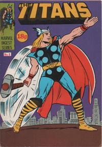 Cover Thumbnail for Titan Pocket Book (Marvel UK, 1980 series) #8