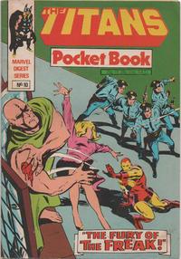 Cover Thumbnail for Titan Pocket Book (Marvel UK, 1980 series) #10